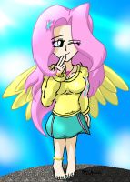 Fluttershy :3 by MeganekkoPlymouth241