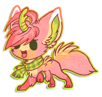 Chibi Cherry by griffsnuff