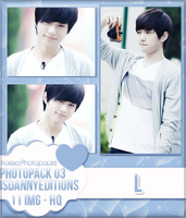 L (INFINITE) - PHOTOPACK#03 by JeffvinyTwilight