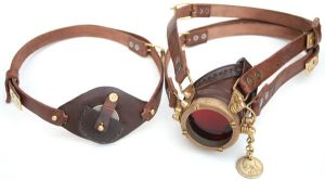 Steampunk Monogoggle 2 by AmbassadorMann