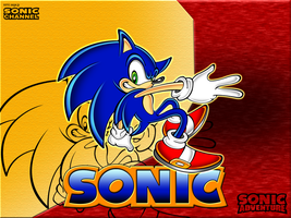 Sonic for fun Wallpaper by megax88