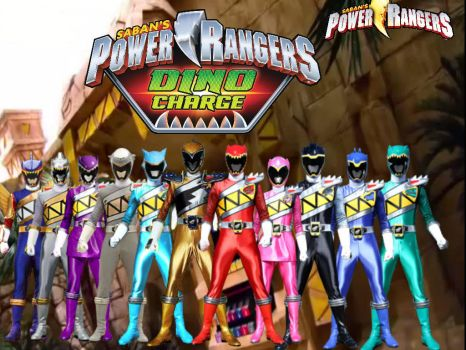 Power Rangers Dino Charge by ThePeoplesLima