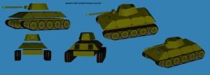 Tank model blowup pic by falcon01