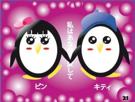 Pingui Love by EdnaCaicedo