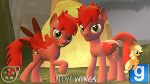 Sparks and F.Sparks New wings DL by MrTermi988