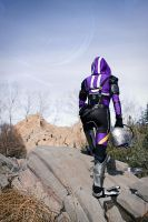 Tali Zorah vas Normandy - Finally, Rannoch. by MagpieLaughs