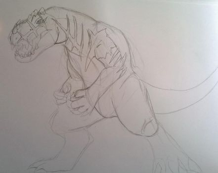Redback sketch by The-Linkinator