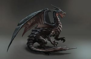Black Dragon by aaronflorento