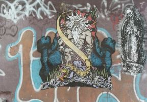 Poseidon Graffiti by gungrave2002