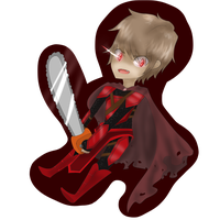 Chainsaw Laurance! by AyaMichelle