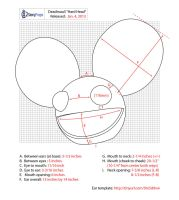 Deadmau5 Hard Head Measurements by DoubleZeroFX