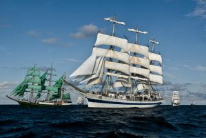 The Tall Ships' Races 2009 by martol