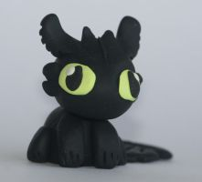 Toothless by creativesculpey