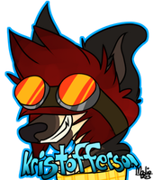 Kristofferson Badge 2 by Naheska