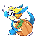 Imma Draggin Mah Pumpkin by Nestly