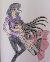 .:PC:. Aya and Shizuko by prettycure97
