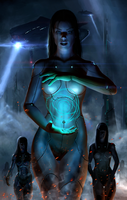 cborg girl by Rofelrolf