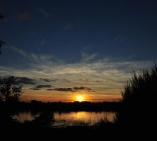 Sunset Silhouette by Chihito