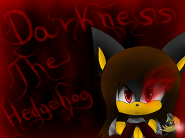 Darkness The Hedgehog :new outfit: by DerianaTheHedgehog