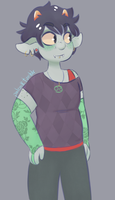 Karkat Maryam by tastymonsters