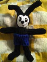 Oswald the Lucky Rabbit Doll by melodiavalentine