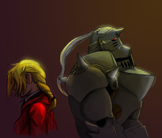 Current FMA fanart WIP by Akadafeathers