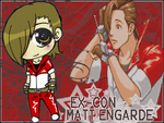 Matt Engarde Chibi Gaia Banner by night-burner