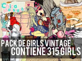 Pack Girls Vintage by YinaMoustache1D4
