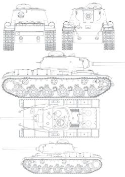 Russian KV85B Tank Brush CS3 by xxxNitewingxxx