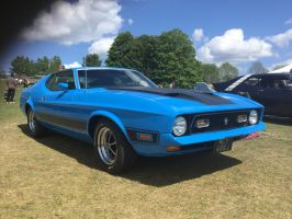 Mach 1 Mustang front by Car-lover33