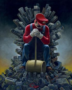 Throne of Games by jasinski