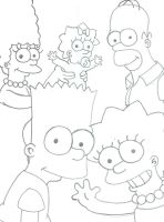 The Simpsons by camogirl88