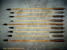 Plains Indian Arrows by BaBQ
