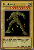 Bio-Broly Card - Fixed by WyvernsBlade