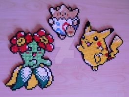 Pokemon sprite bead 8 by Chiki012
