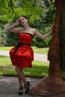 Red Satin 18 by Anariel-Stock