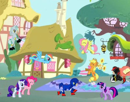 Sonic and Co. by GSHgunner