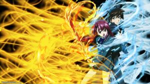 Kaze no Stigma 1366x768 by finnel-harvestasya
