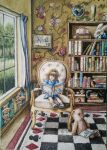 Alice In The Library by BAK123