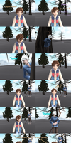 MMD Comic - Jack Frost is nipping your nose ! by JackFrostOverland