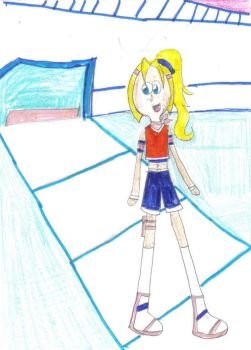 BB: Rikku M. in the Stadium by beyblader04
