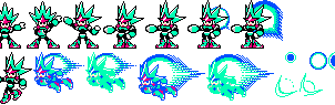 Comet Woman Sprite Rip by mike1967-now