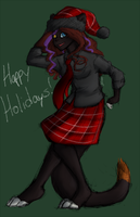 MERRY CHRISTMAS LOSERS by BlackCalico