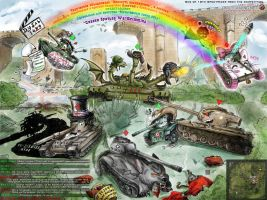 WoT Contest: Cartoon tanks 2014 by Lucithea