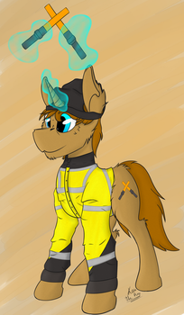 le Ramp Agent Pone by KamiThePony