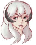 Realistic-ish Norie doodle  by Uu-hime