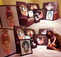 1st Exhibition by 3ahia