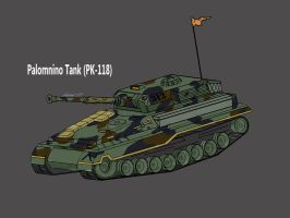 Light Tank - Palomino by Nics-MP