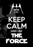 Keep Calm and use The Force by canha