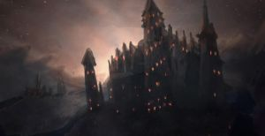 Speed Paint - 012 - Castle by Art-by-Smitty